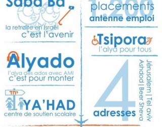 La Alya de France aussi pour les handicapés. Un dispositif de AMI (Israël).