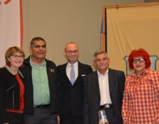 Franck VERMEULEN, Consul général de France à Tel-Aviv en visite a Ashkelon : une rencontre bien sympathique !!!