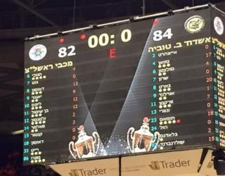 Basket-ball: Ashdod/Beer Tuvya – 2500 fans pour soutenir leur Equipe !