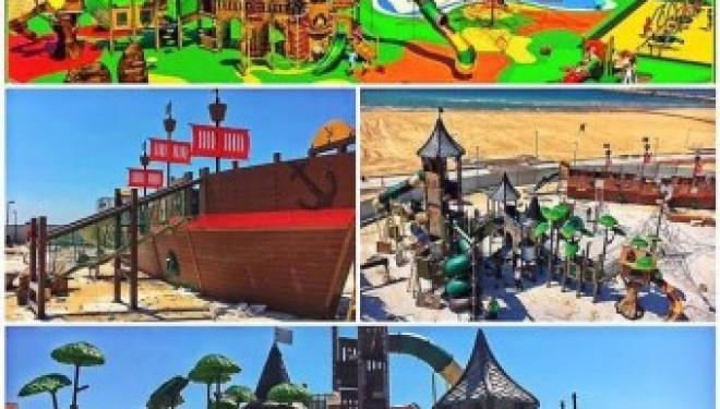 Un nouveau jeu pour enfants arrive sur la plage Miami d'Ashdod !