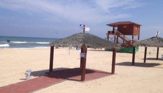 Drapeau bleu sur les 7 plages d'Ashdod