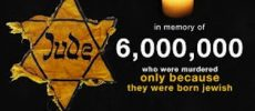 Yom HaShoah  : la journee du souvenir et de l'héroïsme que nous nous devons de commémorer