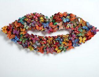 David Gerstein et ses sculptures colorées, c'est sur vous le connaissez !!!!