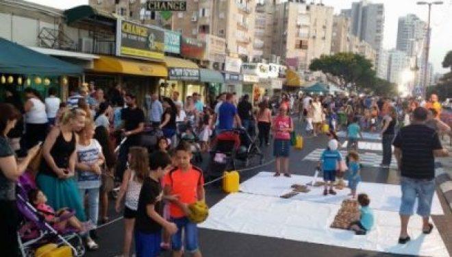 Aujourd'hui la rue rogozine redevient piétonne avec des animations et activités pour toute la famille