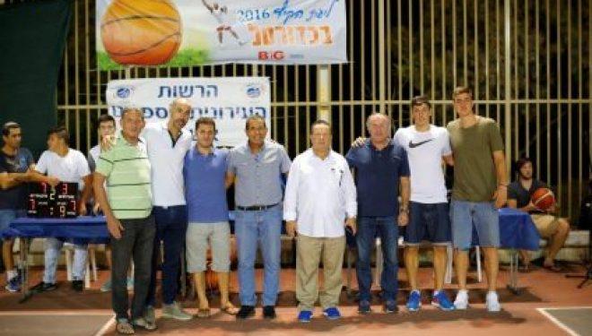Sport : la ligue d'été de Basket a Ashdod saison 2016