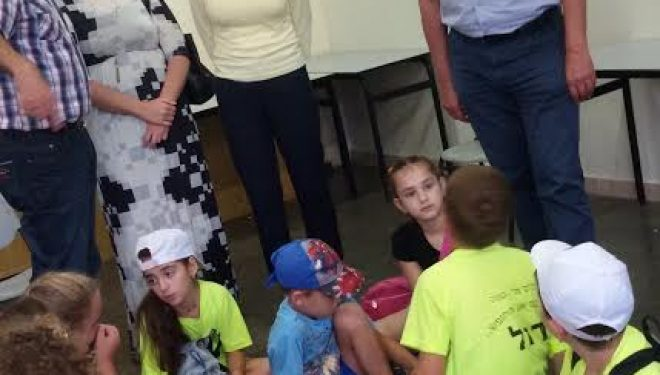 Centre aéré pour les enfants de nouveaux immigrants au centre culturel ה»