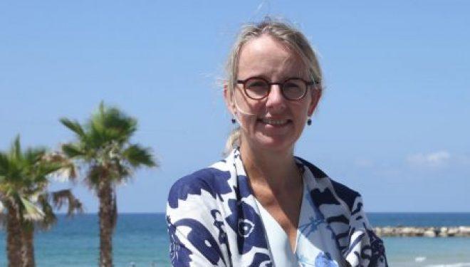 Bonne chance a Hélène Le Gal, nouvelle ambassadrice de France a Tel Aviv qui vient de prendre ses fonctions
