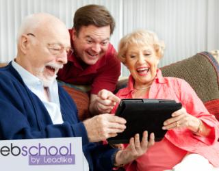 Web School Séniors – Une formation pour ceux qui veulent rester à la pointe de la technologie!