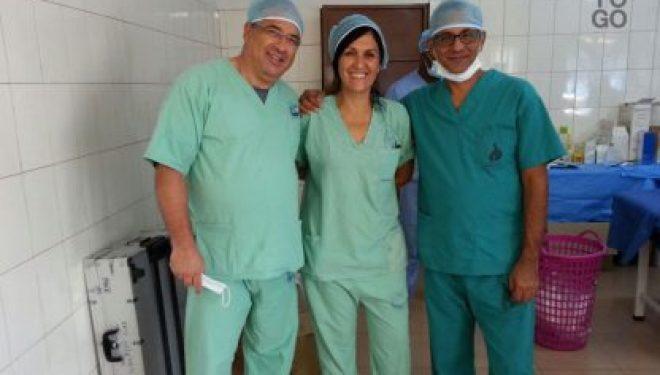 Mission médicale a Anié (Togo), les médecins israéliens combattent la cataracte ! Tout un symbole…
