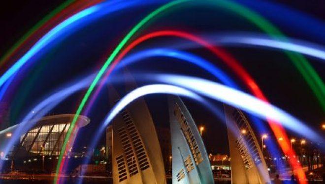 Le rond point des voiles à Ashdod est devenu le symbole prestigieux et incontournable de la ville !