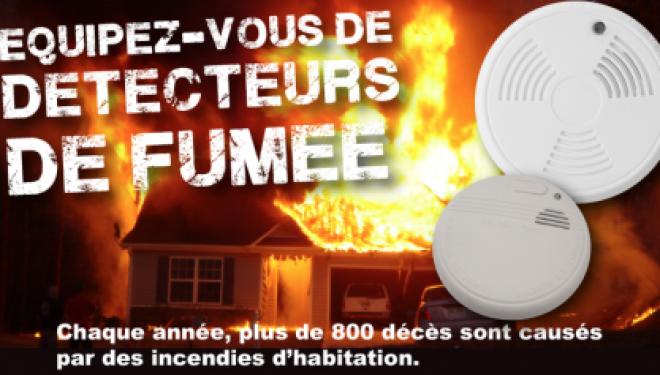 Bientot Hanoukka, avez-vous pensé a vous équiper d'un détecteur de fumée dans votre maison ??