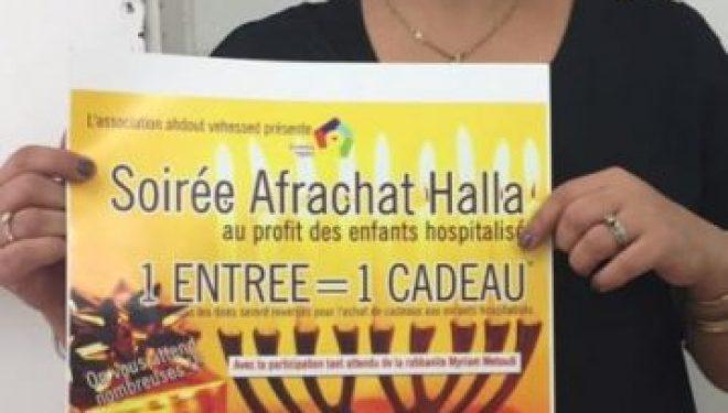 Grande soirée Afrachat Halla au profit des enfants malades le 22 Décembre 2016 avec Ahdout Vehessed