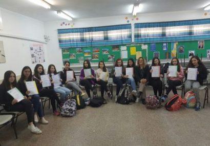 Ashdod : Les filles et les sciences !