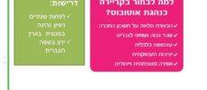 Misrad Ha Klita Ashdod : Reconversion professionnelle 100% pour les femmes