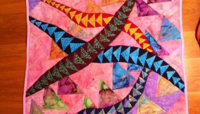 «Elle a fait un tapis» – exposition collective inspirée du Quilt à la »Municipal Art Gallery»