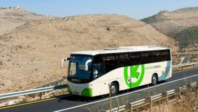 Enfin un direct Jérusalem-Ben Gurion, un service de bus commence la semaine prochaine !