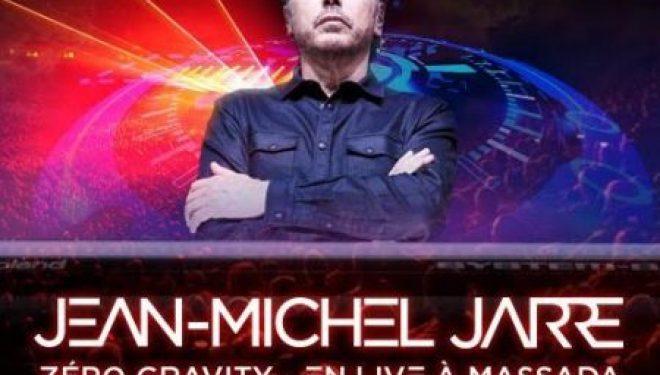 Israel : Voir Jean-Michel Jarre en concert, un événement qui ne se produit peut être qu'une fois dans sa vie