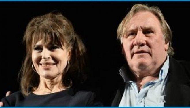 Gérard Depardieu et Fanny Ardant réunis a Tel Aviv pour deux representations les 18 et 19 Mars 2017