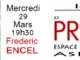 Le club de la Presse de L'espace francophone avec Frederic Encel ce 29 mars a 19h30