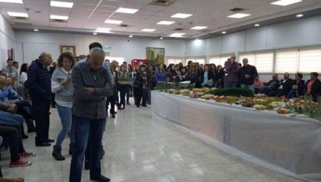 Pessah : Un cocktail organisé pour les membres du service municipal de la culture