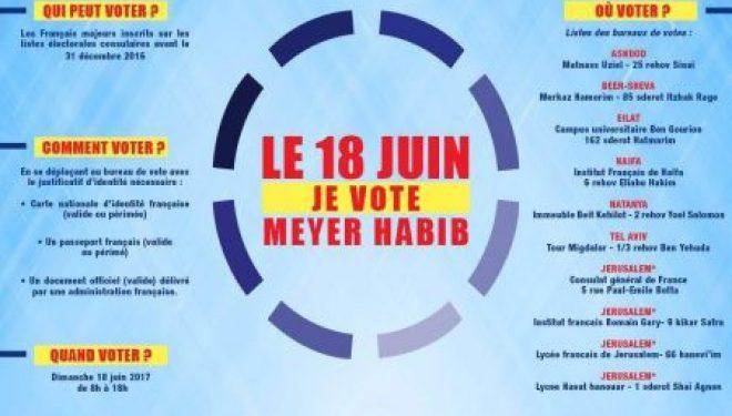 Législatives : le 18 juin 2017 votez ou donnez procuration, mais mobilisez-vous !