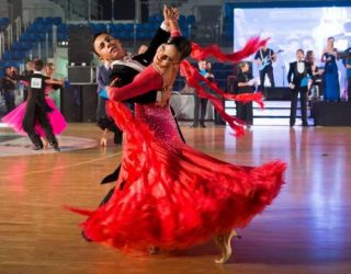 Le monde de la danse : Concours international de danse de salon dans la ville d'Ashdod