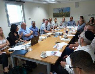 Première à Ashdod !!!  Forum des directeurs des achats des grandes entreprises de la ville