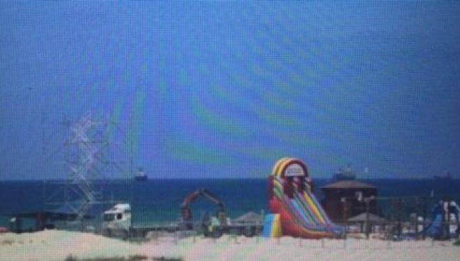 Ashdod : Un nouveau parc d'attraction pilote, nautique et de sport extreme  sur la plage !