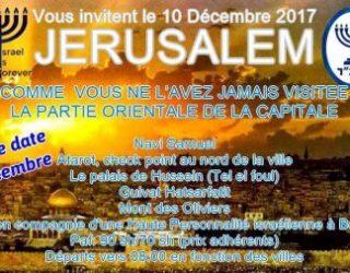 Jérusalem comme vous ne l'avez jamais visitée !!!avec Israel Forever !!!