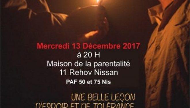 l'Espace Francophone d'Ashdod et Marc Chaouat présentent OUI, une piece de théâtre a ne pas manquer !