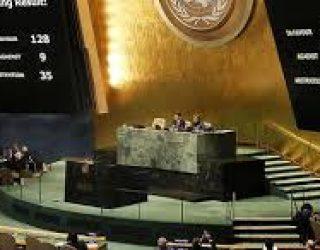 Résultats du vote à l'ONU de la résolution ES10-L22 sur le statut de Jerusalem le 21-12 ! Qu'en pensez vous ???