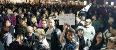 2 ème grosse manifestation ce soir contre la coercition religieuse d'Ashdod