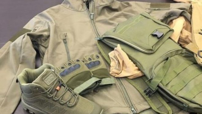 Ashdod : Des vêtements militaires à destination de Gaza sont saisis au port