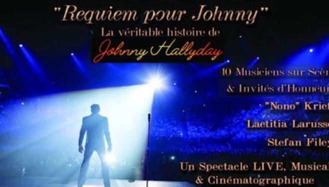 Hommage : «Requiem pour Johnny» La véritable histoire de JOHNNY HALLYDAY le 22 mars 2018 à 20 h 30 à Tel Aviv
