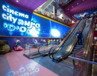 Le complexe »Cinéma City» à Ashdod est en très bonne voie !