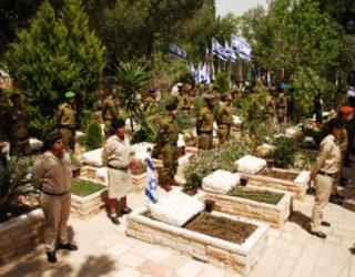 Yom Hazikaron : Une vidéo émouvante avec le nom des morts enterrés dans le cimetière d'Ashdod – Attention sirène ce soir a 20 h !!!