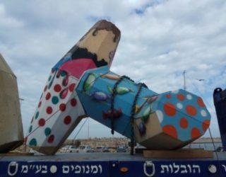 Ashdod : Installation de brise-lames reliant la mer à la terre