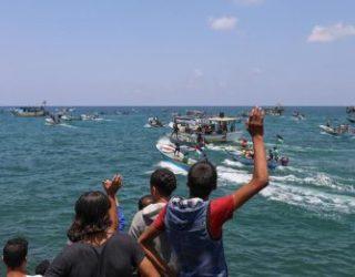 La marine israélienne intercepte un navire cherchant à briser le blocus de Gaza