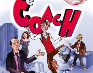 » Le Coach» Une pièce de théâtre hilarante vous est proposée par l'Espace Francophone d'Ashdod ce 7 juin 2018