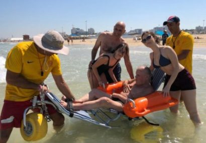 Un magnifique cadeau d'anniversaire : Michael, 85 ans a réalisé un rêve à Ashdod !