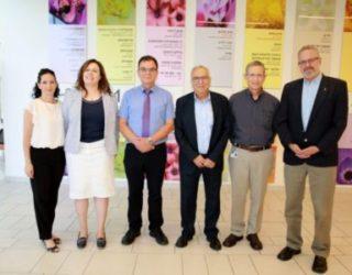 Le professeur Zion Hagai, président de l'Association médicale israélienne, a visité lundi l'hôpital Assuta à Ashdod