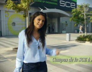 SCE la plus grande école d'ingénieurs en Israël en partenariat avec MASA, c'est joindre le professionnel à l'agréable